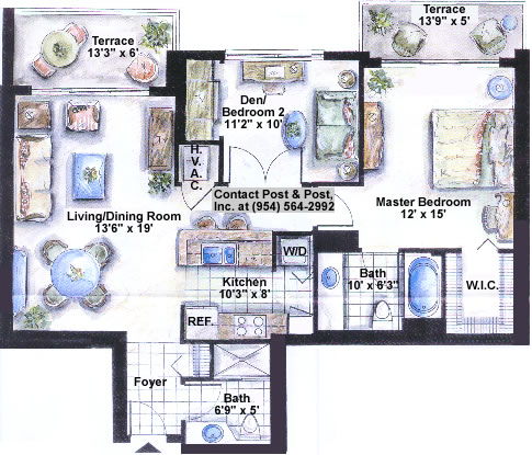 Symphony floor plan bach 1 for Bach floor plans
